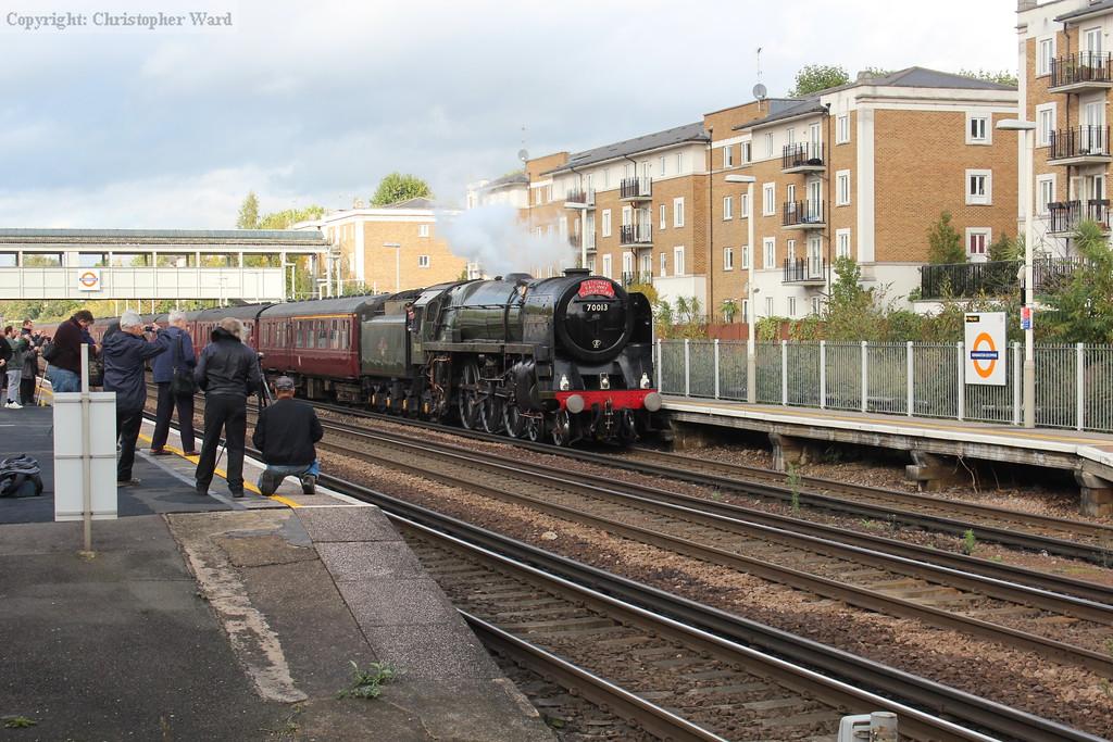 70013 runs in from Bridgnorth