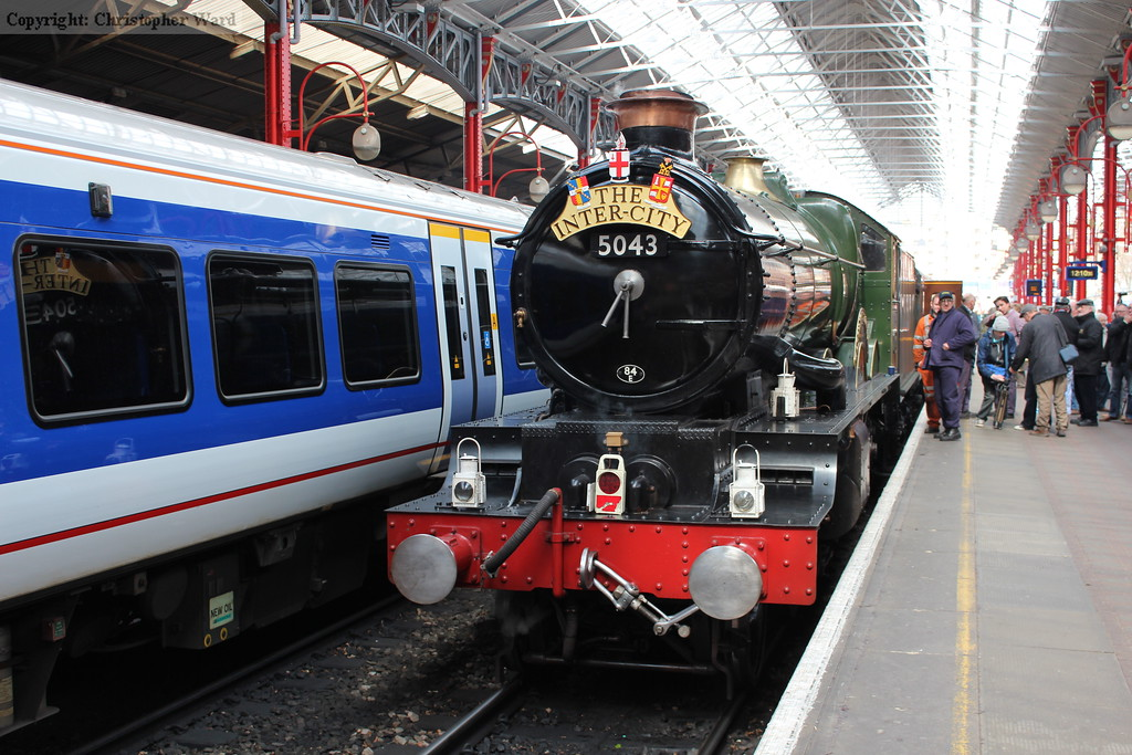 5043 is prepared for the trip to Southall