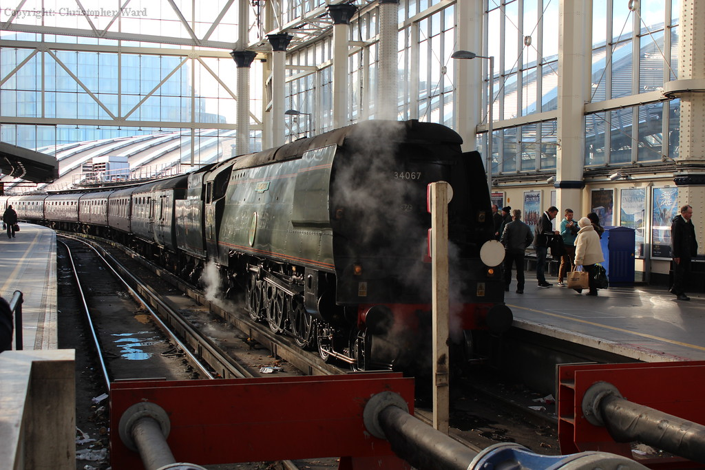Tangmere prepares to withdraw to Southall for servicing