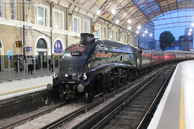 60009 arrives at Victoria with a train from Durham