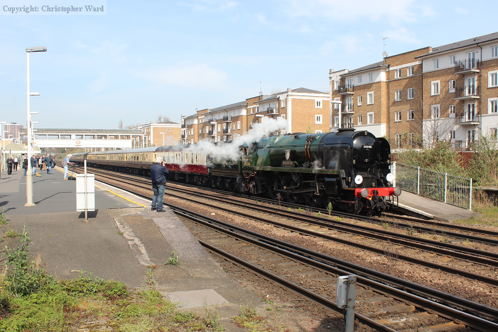 The Vintage Trains stock making a rare visit south of London