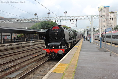 The Duchess pulls into Euston, a scene repeated many times over the years