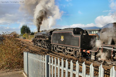 44871 makes a volcanic departure from Basingstoke