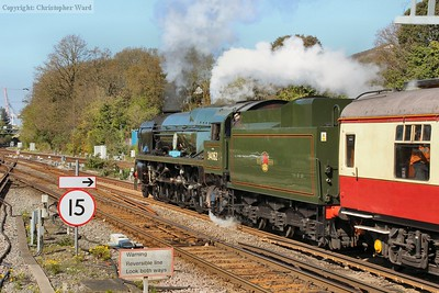 Braunton gets away from Southampton in the morning sunshine