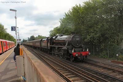 The LMS all-rounder slows for the final call before heading down to the coast