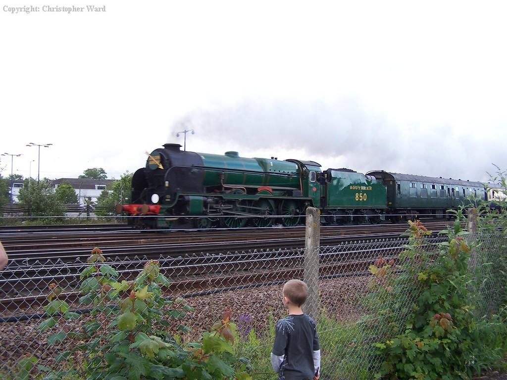 Lord Nelson passes Tonbridge