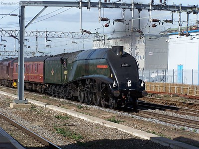 60009 passes Rugby