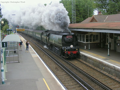Tangmere steams through Falmer