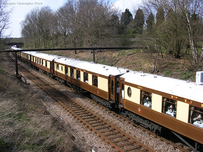 The beautifully restored carriages