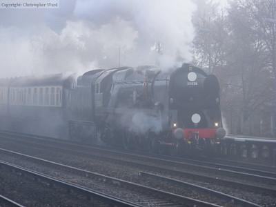 35028 at Byfleet & New Haw