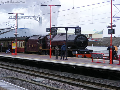 6201 Princess Elizabeth on a Tyseley - Euston special
