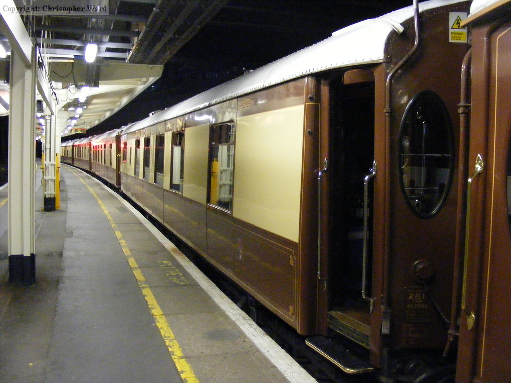 Pullman car Gwen, formerly of the Brighton Belle