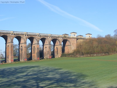 The viaduct on a frosty morning