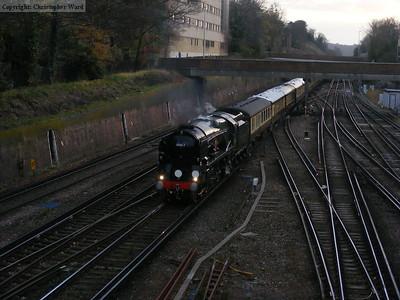 The VSOE at East Croydon