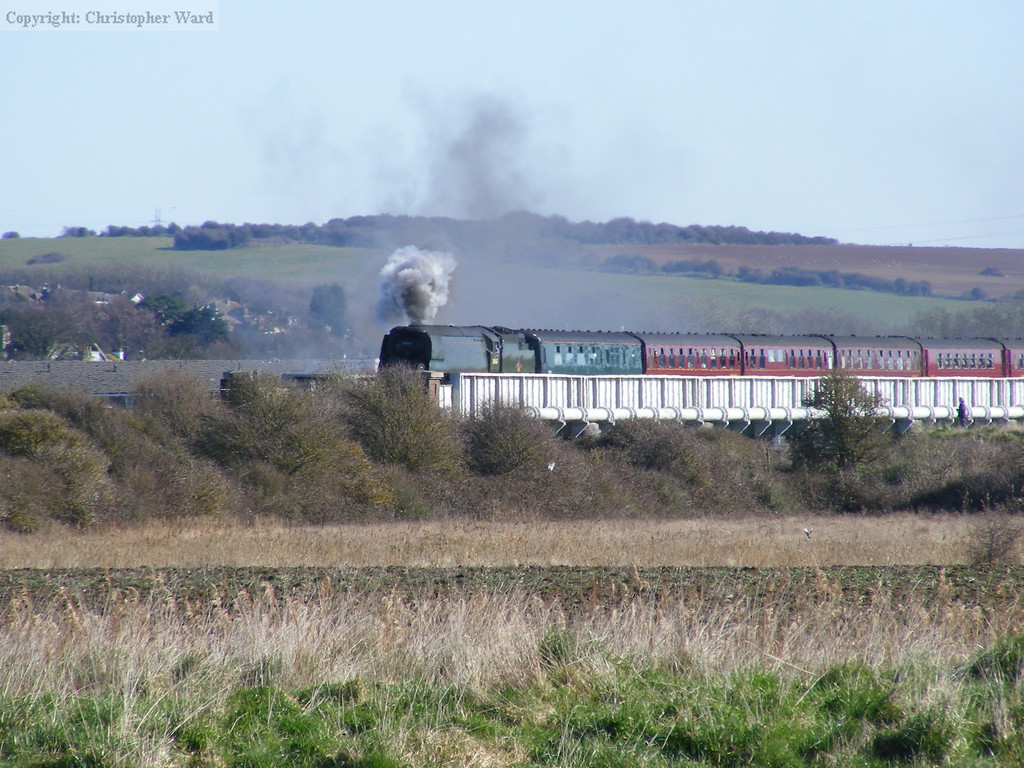 As the signal clears, Tangmere opens up