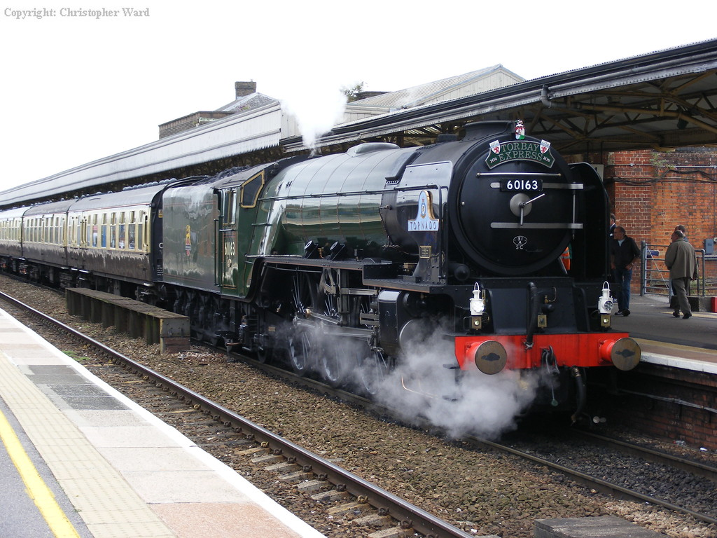 The Torbay Express with 60163 in new livery