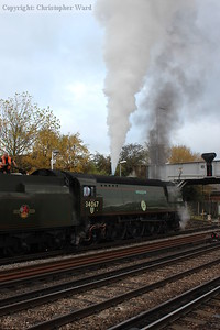 Tangmere blows off