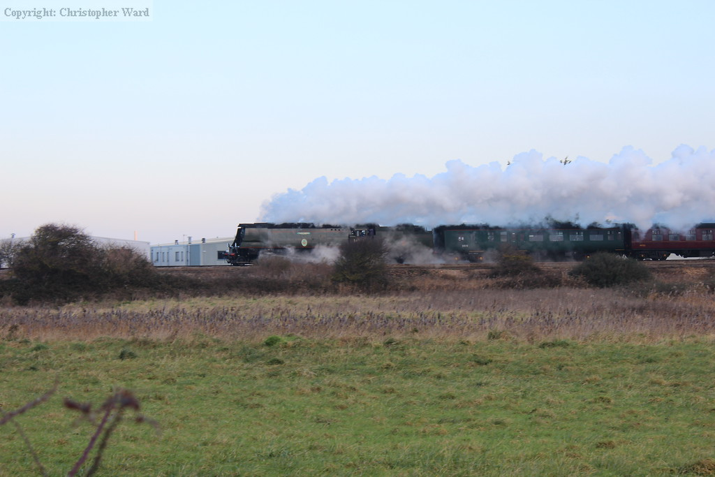 Tangmere in action