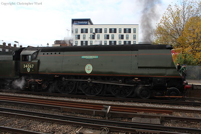 Tangmere, having slipped to a stand on Parkstone bank shortly after leaving Poole
