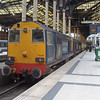 20308 and 312 at London Liverpool Street with the Pathfinder Tours Buffer Puffer 10.0 rail tour 260113