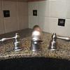 Banner series 950 bathroom faucet (Castille Collection).
