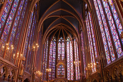 St Chappelle, Paris, France