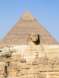 Sphinx and Great Pyramids, Egypt