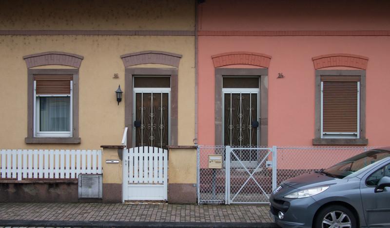 Maisons ouvrières à Erstein