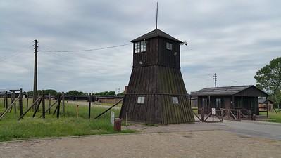 Majdanek concentration camp Poland 2015