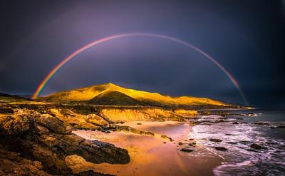 Malibu Rainbow Ocean Art Seascape Sunset Fine Art Landscape Nature Photography