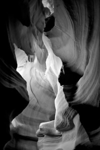 antelope canyon - Flows of Timebw