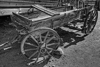 goldfield_wagon_hdr_bw