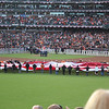 World Series 2012, unfurling the American Flag
