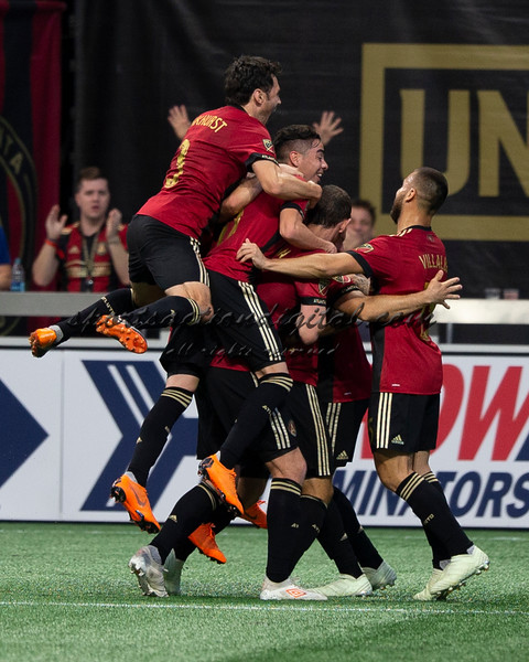 Atlanta United players