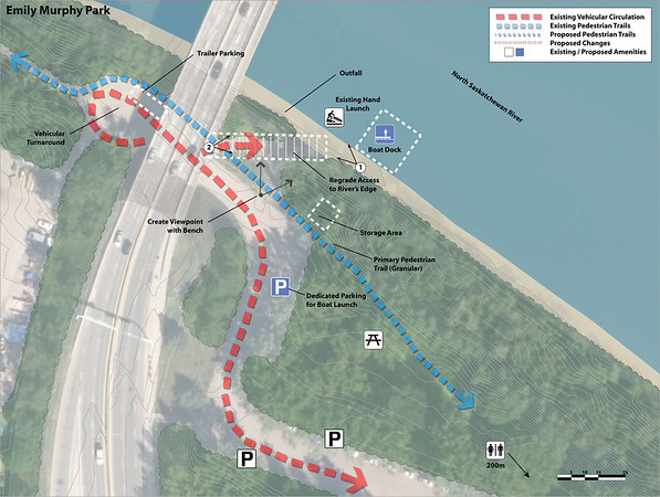 Boat Docks and Launches: Emily Murphy Park_MAP