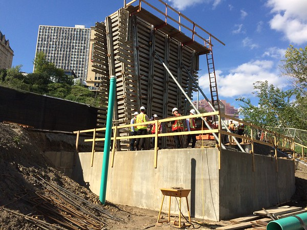 Mechanized Access concrete work