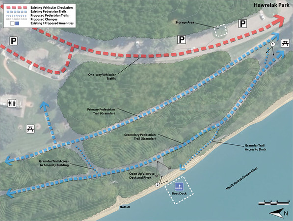Boat Docks and Launches: Hawrelak Park_MAP
