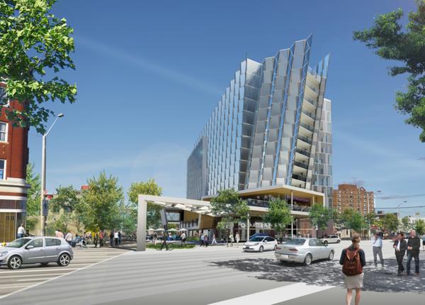 Hotel future site Jasper 96 Street