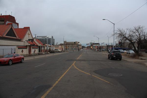 96 Street before development, facing North