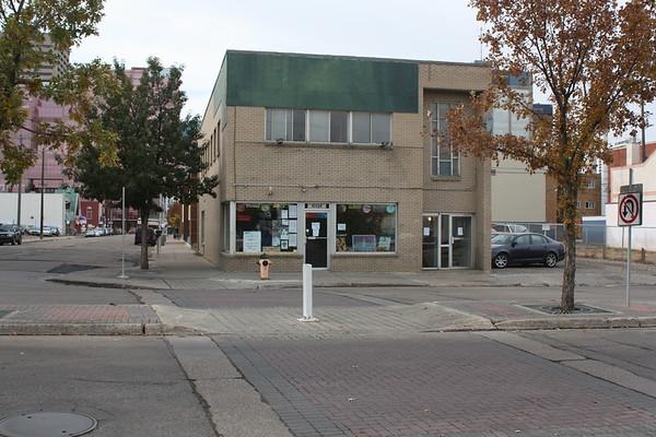 96 Street before development, facing East