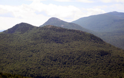 Horse Mountain and Bald Mountain behind it