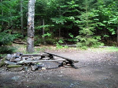 Campsite near Billfield Pond