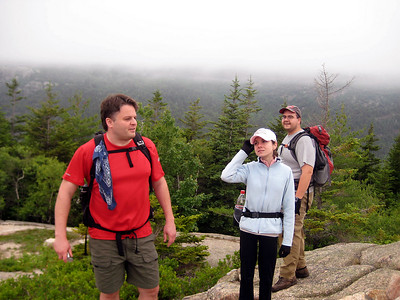 Steve, The Jeneral and New Hampshire on South Bubble