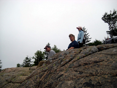 New Hampshire, Christa and The Jeneral watching others play with Bubble Rock