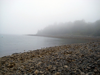 On the shore of Bar Island