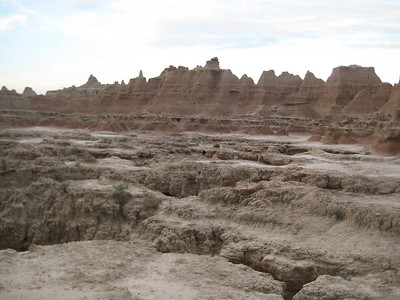 View of the Badlands from The Door Trail