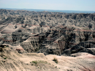 First view of the Badlands