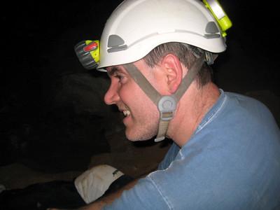 Dave in his helmet