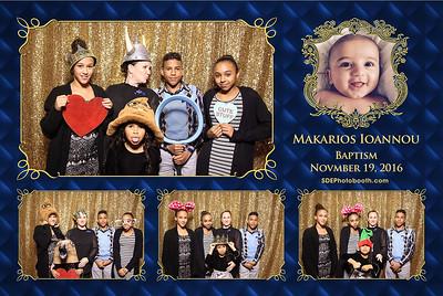 Makarios Baptism (11/19/2016)