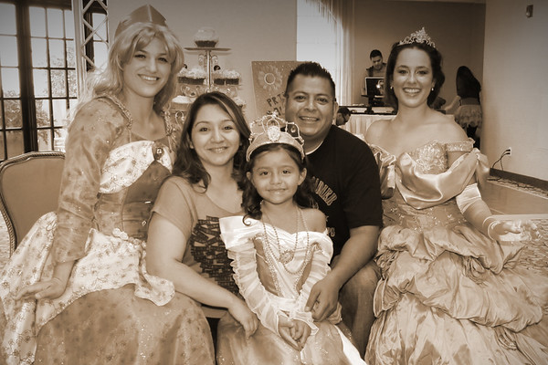 Samantha's Princess wish at the Mission Inn